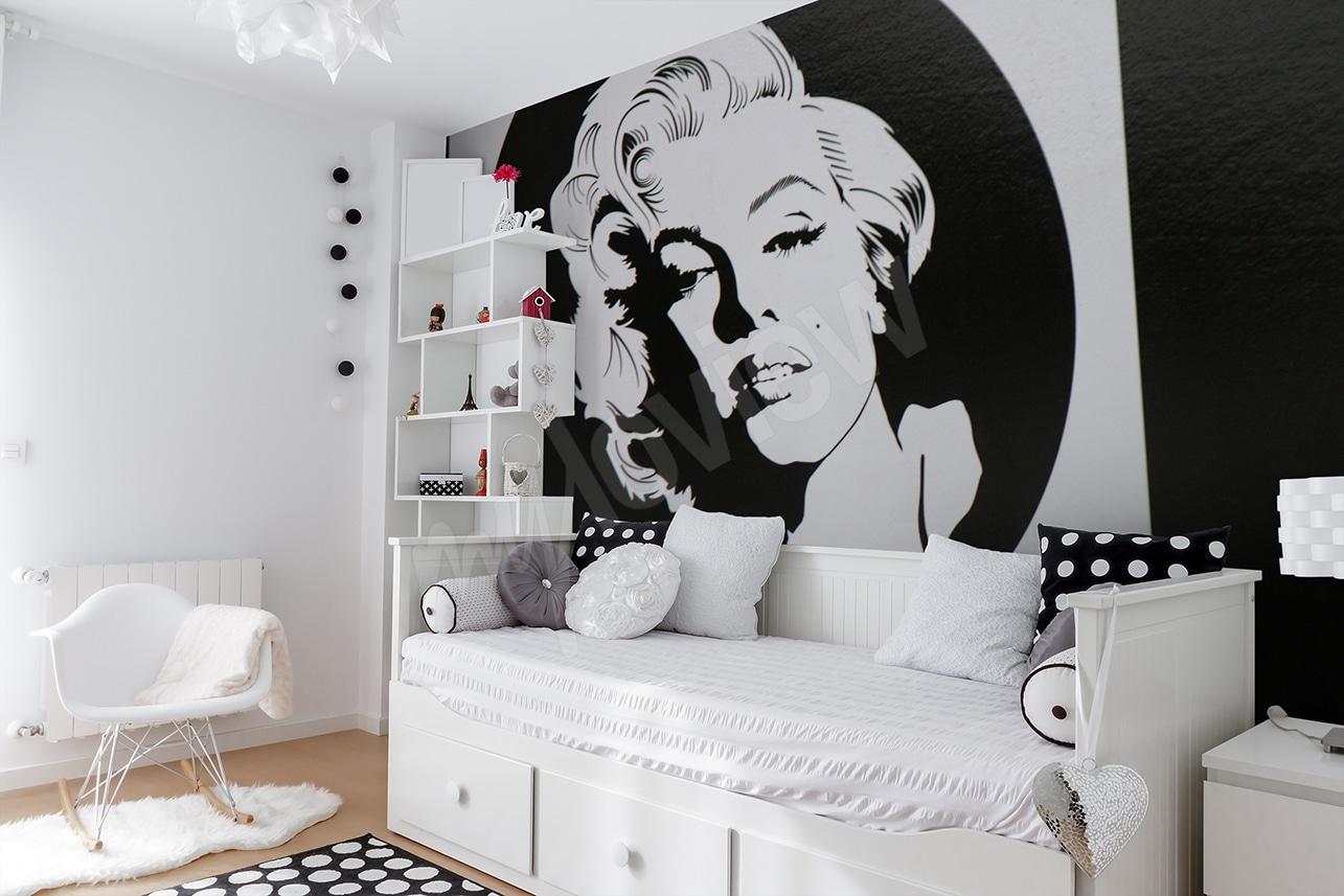 papier peint Marilyn Monroe