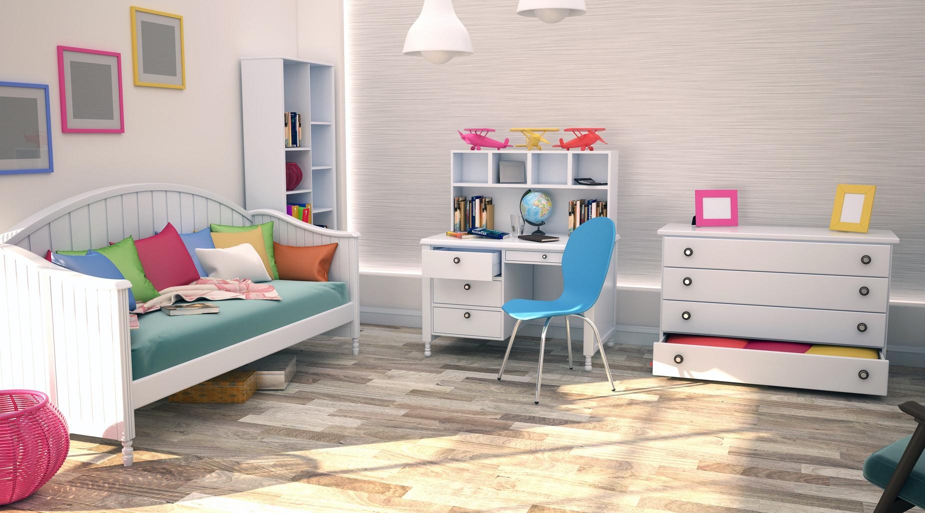 conseils pour bien d corer la chambre de votre enfant. Black Bedroom Furniture Sets. Home Design Ideas
