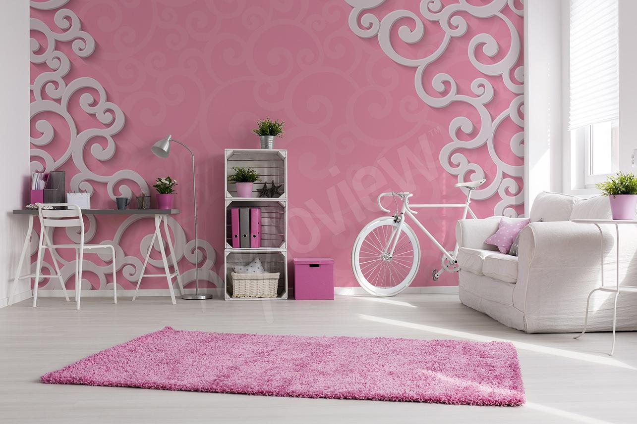 Papier Peint Pour Chambre les papiers peints pour une chambre au féminin, princesse ou
