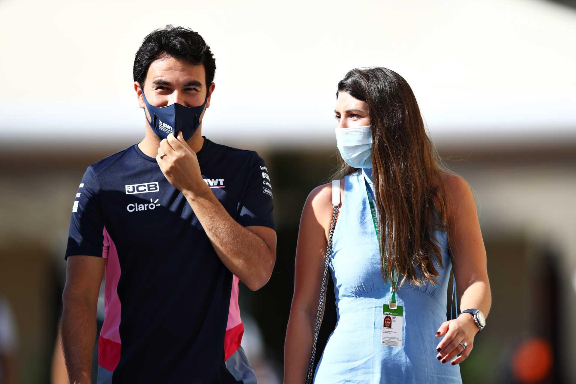 femme de Sergio Perez